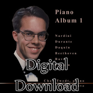 MP3 Album:  Piano Album 1 (Chad Twedt)