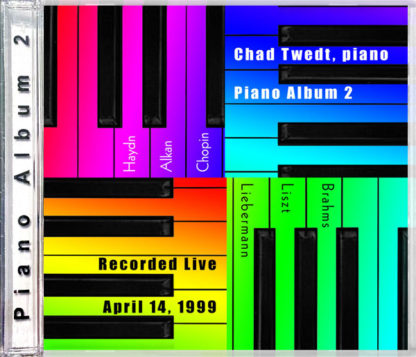 CD:  Piano Album 2 (Chad Twedt)